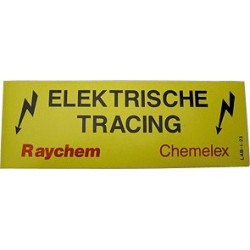 Raychem étiquette...