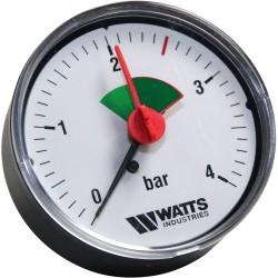 Watts manomètre zone verte...